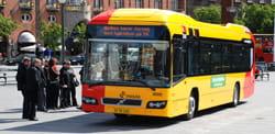 Et eksempel på en hybridbus fra København.