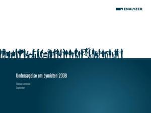 Undersøgelse om bymidten 2008