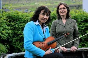 Monica Strauss Joensen og Helga Gerdalid