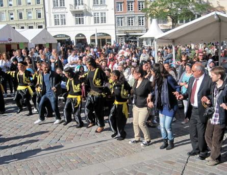 Dans på Flakhaven til Ramadan- og Kulturfesten 2010