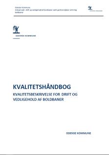 Kvalitetshåndbog for drift og vedligeholdelse af boldbaner