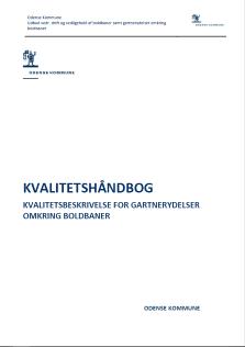 Kvalitetshåndbog for gartnerydelser omkring boldbaner