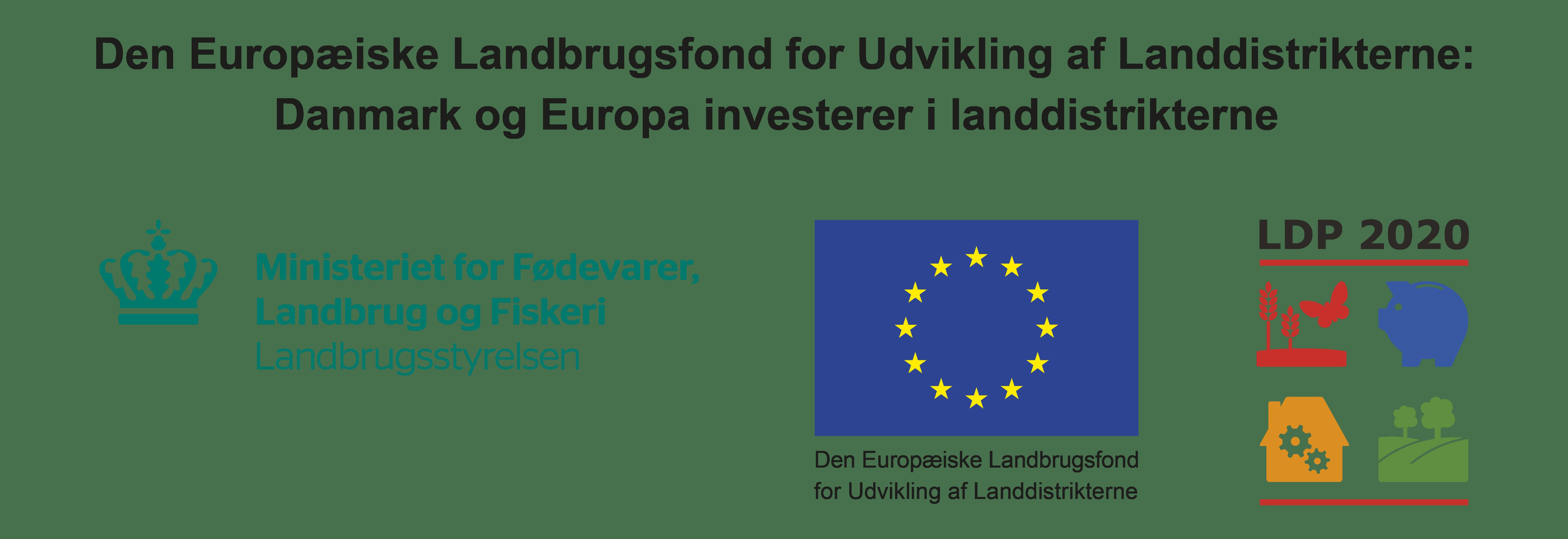 Billede med logo til Den Europæiske Landbrugsfond for Udvikling af Landdistrikterne