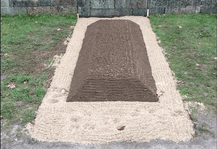 Midlertidigt gravsted