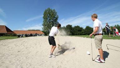 Billede af golfspillere