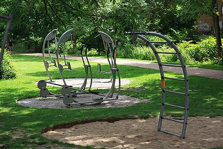 Legeplads nr. 9 - Fitnessplads ved Paaskestræde