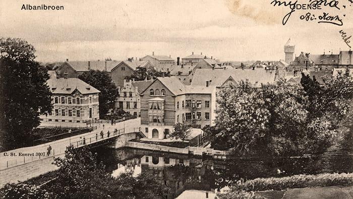 Albanibroen ca 1900