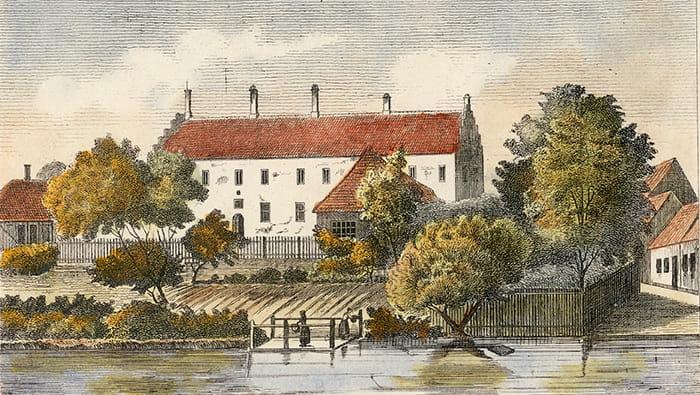 Kloster ved Odense Å