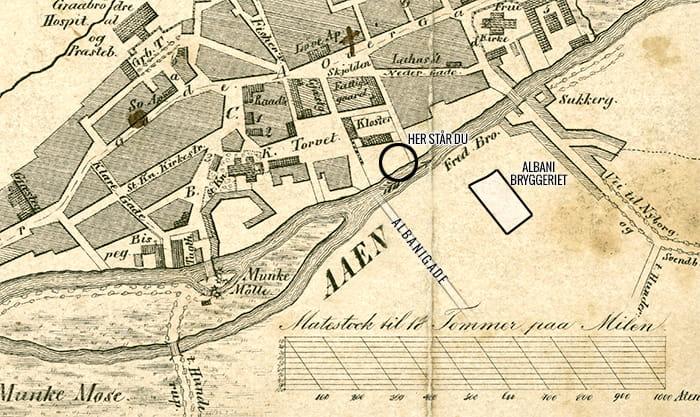 Odense bykort 1839