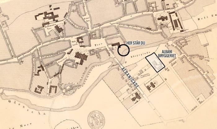 Odense bykort 1861