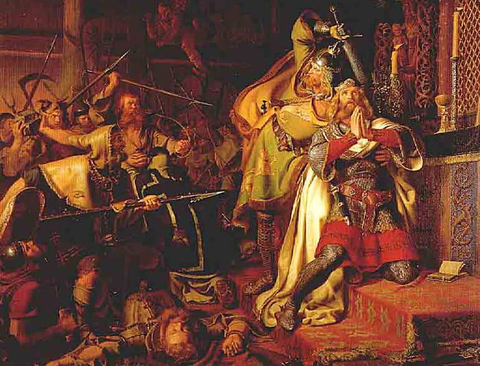 Knud den Hellige 1086