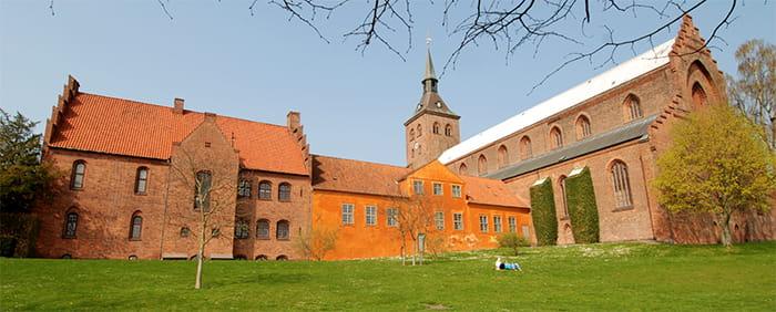 Skt knuds kirke og kloster