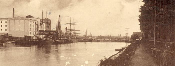 Munke Mølle Odense havn