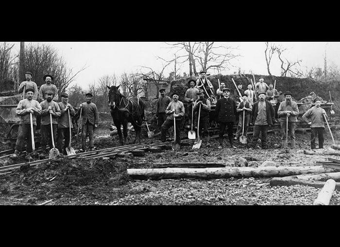 Afgravning Nonnebakken