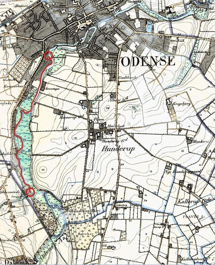 Odense Å 1870