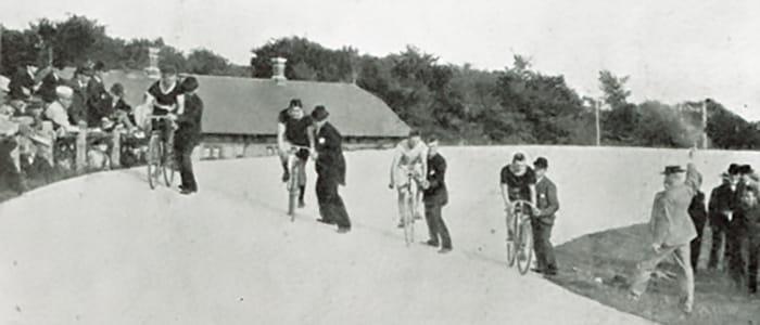Cykelbane i Fruens Bøge