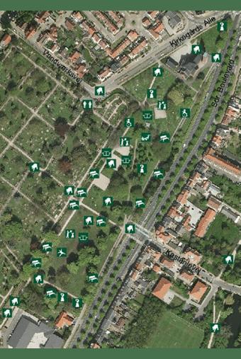 Kort over Ansgar anlæg