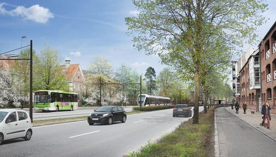Letbanens Linje 2 Sønder Boulevard
