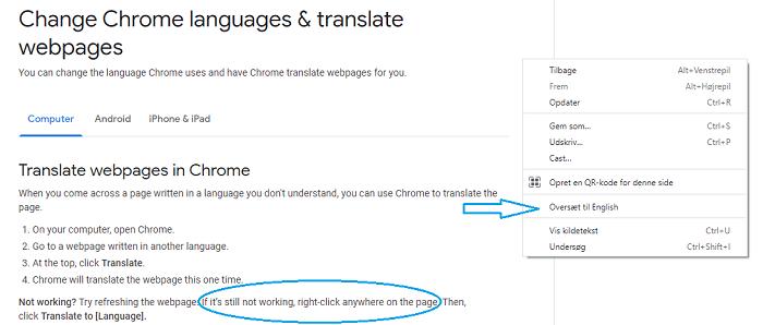Translate to English description