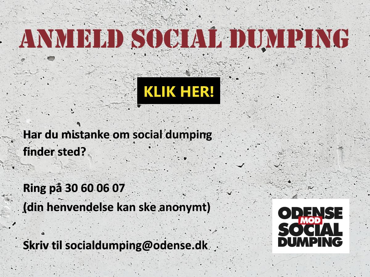Anmeld social dumping