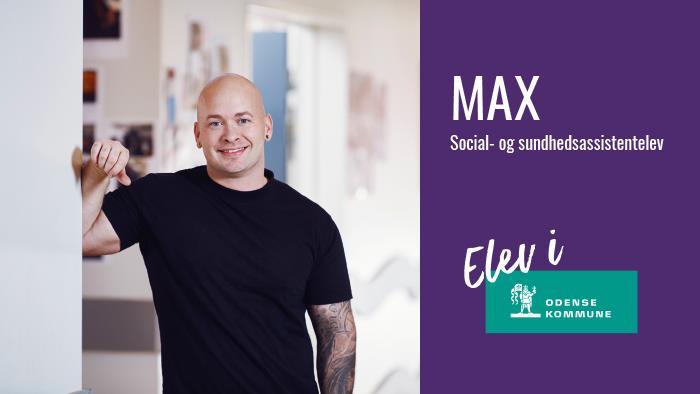 Social- og sundhedsassistentelev Max