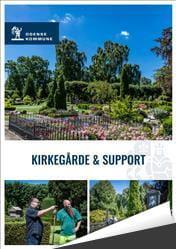 Læs folder om Kirkegård og Support