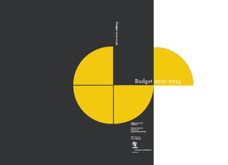 Se det vedtaget budget 2012-2015 (pdf)