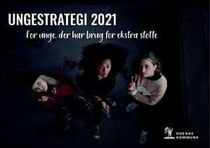 Forsiden til Ungestrategi 2021