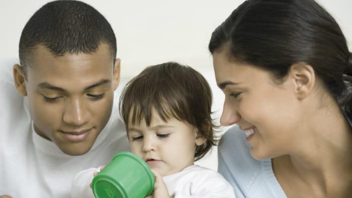 Pas dine egne børn i op til et år