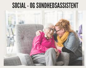 Læs mere om at blive social- og sundhedsassistent