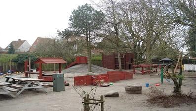 Børnehusets Solgårdens legeplads