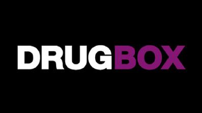 Dekorativ billede af Drugbox logo