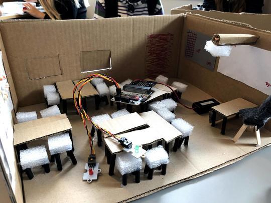 Makerspaces, klasseværelse