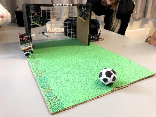 Makerspaces, fodboldbane
