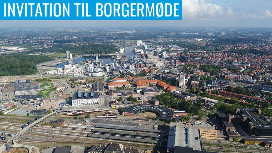 Invitation til borgermøde Nørrebro og City Campus